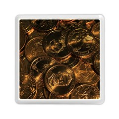 Gold Coins 2 Memory Card Reader (square)