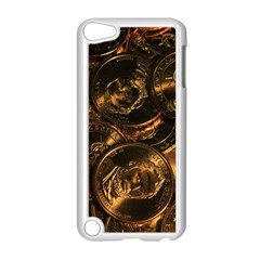 GOLD COINS 2 Apple iPod Touch 5 Case (White)