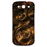 GOLD COINS 2 Samsung Galaxy S3 S III Classic Hardshell Back Case Front