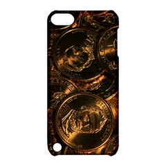GOLD COINS 2 Apple iPod Touch 5 Hardshell Case with Stand