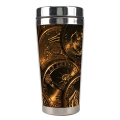 GOLD COINS 2 Stainless Steel Travel Tumblers
