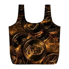 GOLD COINS 2 Full Print Recycle Bags (L)
