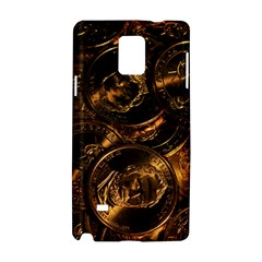 GOLD COINS 2 Samsung Galaxy Note 4 Hardshell Case