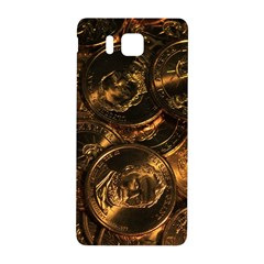 GOLD COINS 2 Samsung Galaxy Alpha Hardshell Back Case