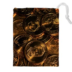 GOLD COINS 2 Drawstring Pouches (XXL)