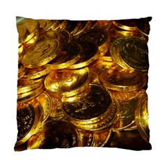 GOLD COINS 1 Standard Cushion Cases (Two Sides)