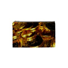 GOLD COINS 1 Cosmetic Bag (Small)