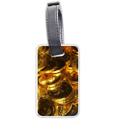 GOLD COINS 1 Luggage Tags (One Side)