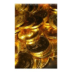 GOLD COINS 1 Shower Curtain 48  x 72  (Small)