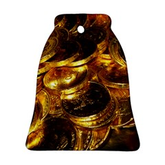 GOLD COINS 1 Bell Ornament (2 Sides)