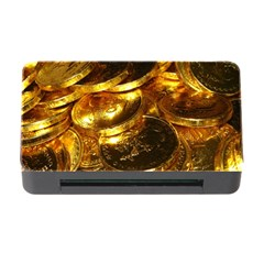GOLD COINS 1 Memory Card Reader with CF