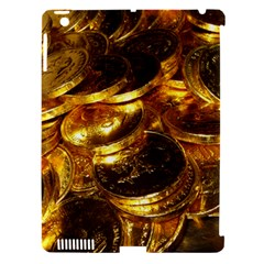 GOLD COINS 1 Apple iPad 3/4 Hardshell Case (Compatible with Smart Cover)