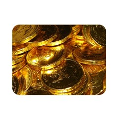 GOLD COINS 1 Double Sided Flano Blanket (Mini)