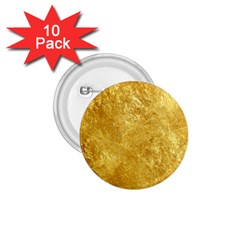 GOLD 1.75  Buttons (10 pack)
