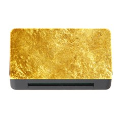 Gold Memory Card Reader With Cf
