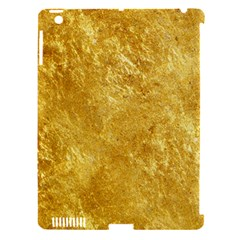 GOLD Apple iPad 3/4 Hardshell Case (Compatible with Smart Cover)