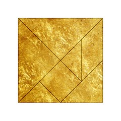 GOLD Acrylic Tangram Puzzle (4  x 4 )