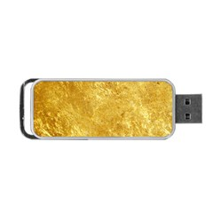 GOLD Portable USB Flash (One Side)