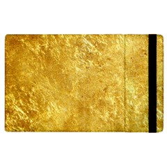 GOLD Apple iPad 2 Flip Case