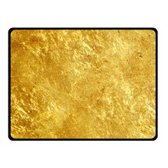 GOLD Double Sided Fleece Blanket (Small)