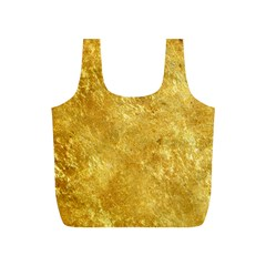 GOLD Full Print Recycle Bags (S)