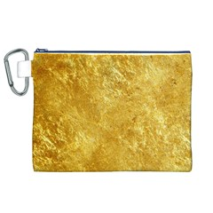 GOLD Canvas Cosmetic Bag (XL)