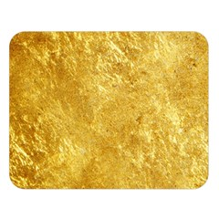 Gold Double Sided Flano Blanket (large)