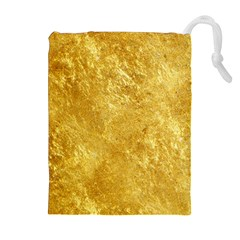 GOLD Drawstring Pouches (Extra Large)