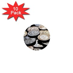 Foreign Coins 1  Mini Magnet (10 Pack)
