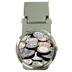 FOREIGN COINS Money Clip Watches