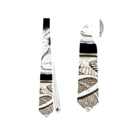 Foreign Coins Neckties (one Side)