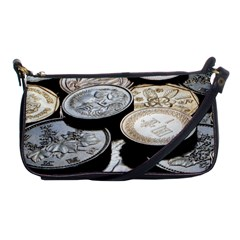 FOREIGN COINS Shoulder Clutch Bags