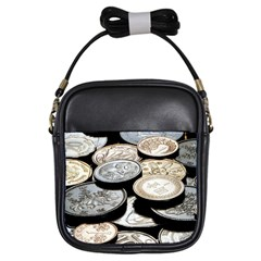 FOREIGN COINS Girls Sling Bags