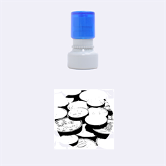 FOREIGN COINS Rubber Round Stamps (Small)