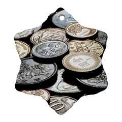 FOREIGN COINS Ornament (Snowflake)