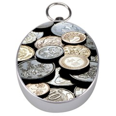 FOREIGN COINS Silver Compasses