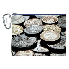 FOREIGN COINS Canvas Cosmetic Bag (XXL)