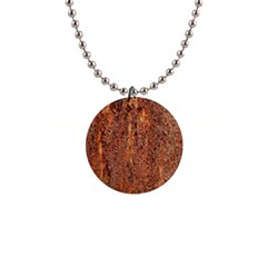 FLAKY RUSTING METAL Button Necklaces