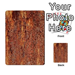 Flaky Rusting Metal Multi Purpose Cards (rectangle)