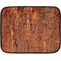 FLAKY RUSTING METAL Fleece Blanket (Mini)