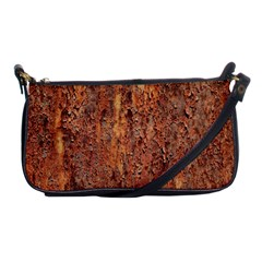 Flaky Rusting Metal Shoulder Clutch Bags