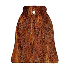 FLAKY RUSTING METAL Ornament (Bell)
