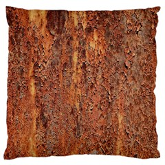 Flaky Rusting Metal Large Cushion Cases (two Sides)