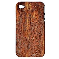 FLAKY RUSTING METAL Apple iPhone 4/4S Hardshell Case (PC+Silicone)