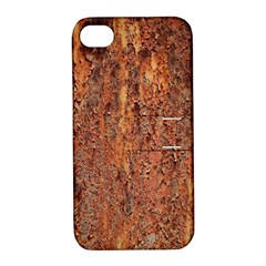 FLAKY RUSTING METAL Apple iPhone 4/4S Hardshell Case with Stand