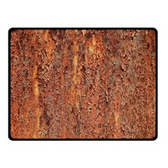 FLAKY RUSTING METAL Double Sided Fleece Blanket (Small)