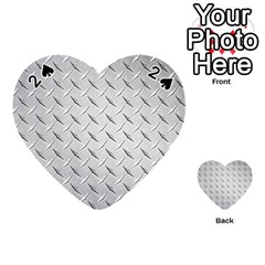 Diamond Plate Playing Cards 54 (heart)