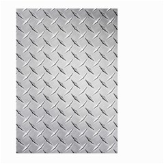 Diamond Plate Large Garden Flag (two Sides)