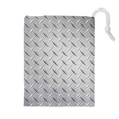 Diamond Plate Drawstring Pouches (extra Large)