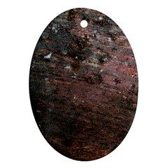 CORROSION 2 Oval Ornament (Two Sides)